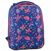 Рюкзак школьный 1 Вересня каркасный H-12-1 Butterfly (554488)