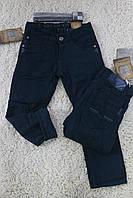 Утепленные котоновые брюки для мальчика  на флисе 6-  лет