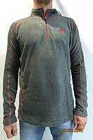 Мужская толстовка X-FIT №666 серая флисовая код 178в