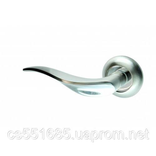 New Kedr R10.039-AL-SN-CP- ручка дверная Kedr (Кедр)