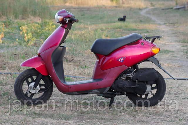 Хонда Дио Фит красный