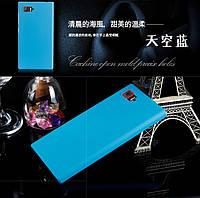 Пластиковый чехол для Lenovo K920 Z2 (5.5 дюйма) голубой, фото 1