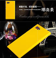 Пластиковий чохол для Lenovo K920 Z2 (5.5 дюйма) жовтий, фото 1