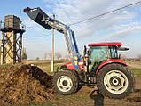 Metal Fach T-229D Фронтальний навантажувач на Case, фото 5