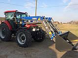 Metal Fach T-229D Фронтальний навантажувач на Case, фото 6