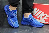 Мужские кроссовки Nike Air Presto. Голубые. Код товара: Д - 4895