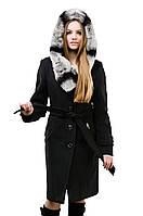 Шикарное зимнее пальто с капюшоном