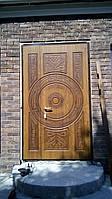 Входные двери с патиной и 3-Д рисунком, фото 1