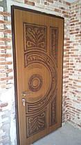 Входные двери с патиной и 3-Д рисунком, фото 2