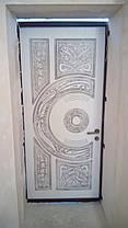 Входные двери с патиной и 3-Д рисунком, фото 3