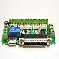 5-тиосевая интерфейсная или коммутационная плата (контроллер) шаговых двигателей для ЧПУ