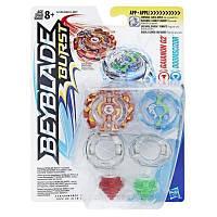 Волчок Hasbro Beyblade GAIANON G2/DOOMSCIZOR (B9491 / C2358)