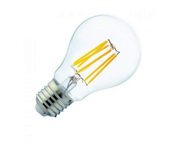 Лампа A60 Filament Globe - 6 6W Е27  4200К (Horoz Electric)