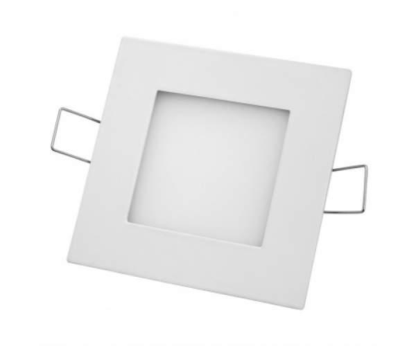 Светильник светодиодный встраиваемый Slim - 3  3W  квадрат (Horoz Electric)