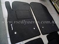 Ворсовые коврики в салон OPEL Astra J (Серые)