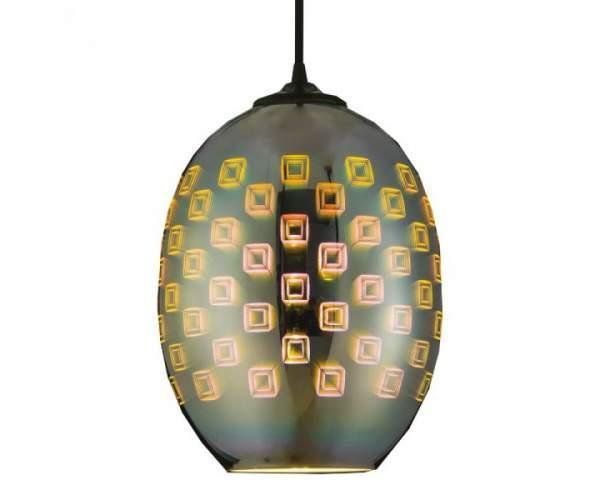 Светильник подвесной SPECTRUM 3D-эффект (овальный) (Horoz Electric)