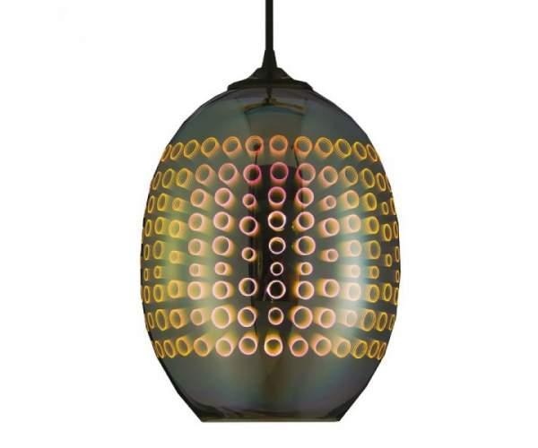 Светильник подвесной RADIAN 3D-эффект (овальный) (Horoz Electric)