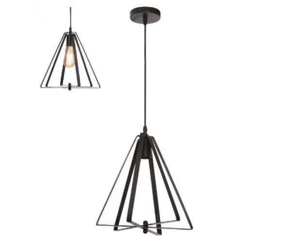 Светильник подвесной KEPLER Е27 черный (Horoz Electric)