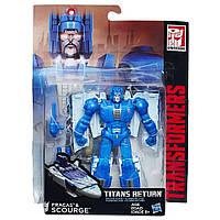 Трансформер Фракас и Скурдж Возвращение Титанов - Fracas Scourge, Deluxe, Hasbro, 14 см - 138291