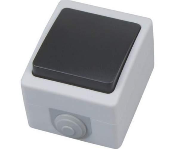 Выключатель накладной проходной IP 54 ATOM (Horoz Electric)