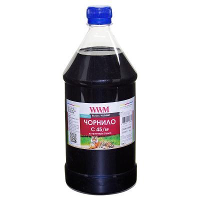 Чернила WWM CANON PG-440/PG-445/PGI-450Bk 1000г Black Pigmented (C45/BP-4)