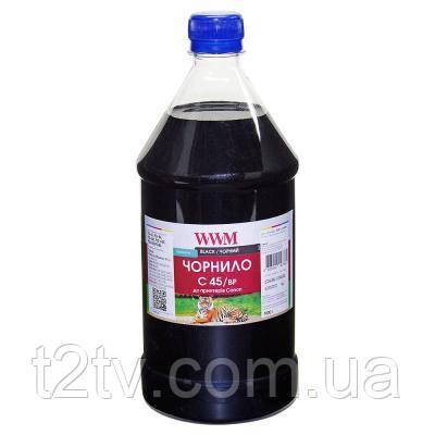 Чорнило WWM CANON PG-440/PG-445/PGI-450Bk 1000г Black Pigmented (C45/BP-4)