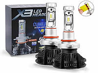 Лампы LED X3 Headlight platinum H11 6500k 6000Lm 50w