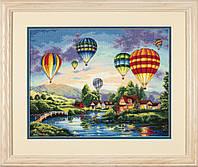"""35213 Набор для вышивания крестом DIMENSIONS Balloon Glow """"Воздушные шары"""""""