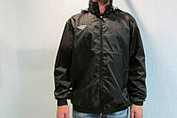 Мужская спортивная куртка Umbro 413013 чёрная код 192б