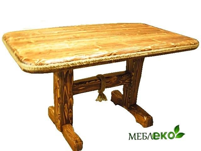 Столы из массива дерева, Стол Квадрат Под Старину