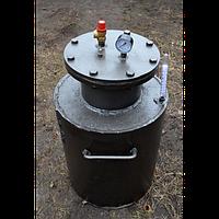 Автоклав для консервирования 60б, толстые стенки, сталь 8 мм, взрывной клапан, 60 банок