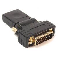 Переходник HDMI AF - DVI (24+1) PowerPlant (KD00AS1301)