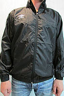 Мужская спортивная куртка Umbro 413015 чёрная код 193б
