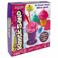 Набор для творчества Wacky-Tivities Kinetic Sand Ice Cream Розовый (71417-1)