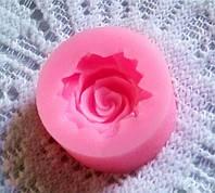 Силиконовая форма для мастики роза для выпечки для лепки торта молд для мыла