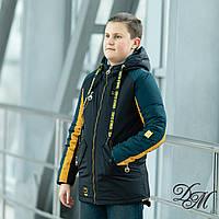 """Куртка-жилет для мальчика """"Стенд"""", фото 1"""