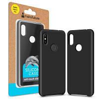 Чехол для моб. телефона MakeFuture Silicone Case Xiaomi Redmi Note 6 Pro Black (MCS-XRN6PBK)