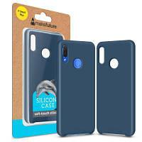Чехол для моб. телефона MakeFuture Silicone Case Huawei P Smart Plus Blue (MCS-HUPSPBL)