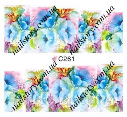 Водные наклейки для ногтей C261, фото 2