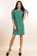Платье прямого силуэта для настоящей леди – лаконичное и элегантное, декоративные рельефы, костюмная ткань, фото 1