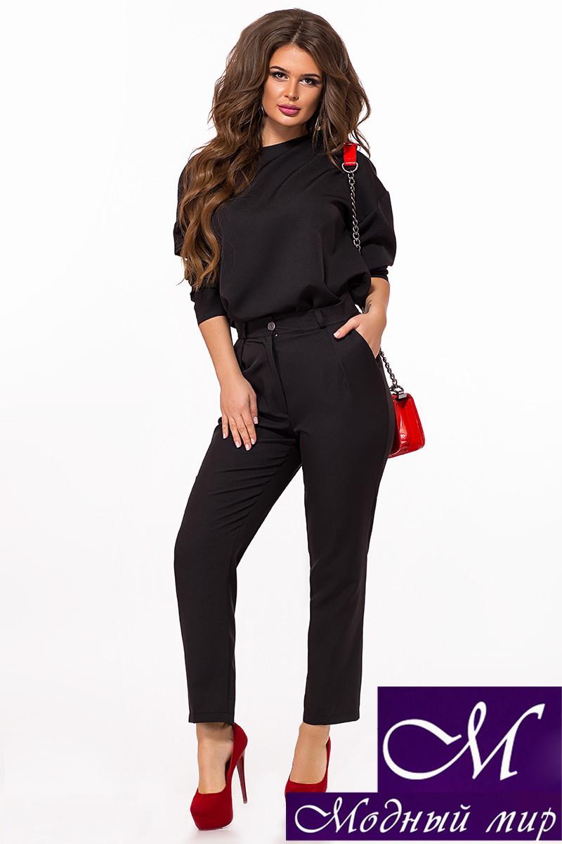 Женский брючный костюм черный (р. 42-44, 44-46) арт. 27-840