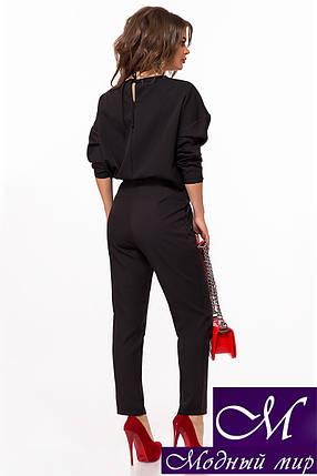 Женский брючный костюм черный (р. 42-44, 44-46) арт. 27-840, фото 2