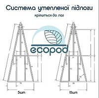 Система утепленої підлоги для ecoPod