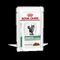 Royal Canin Diabetic Feline 100 гр*12шт -  диета для кошек при сахарном диабете