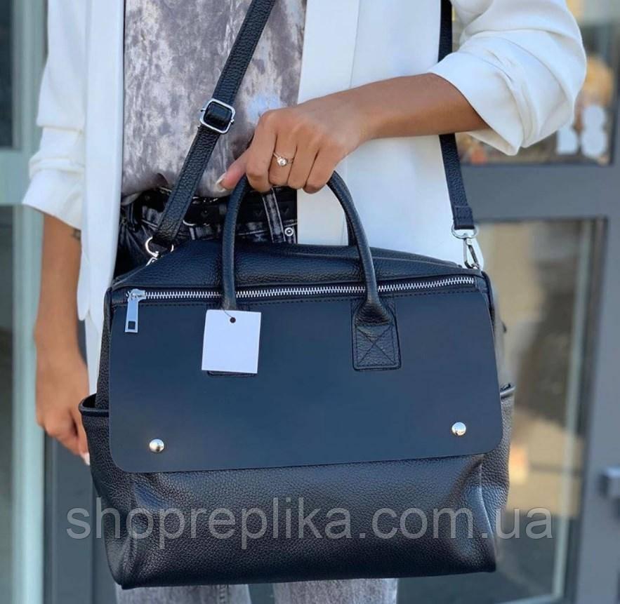Женская кожаная сумка женская сумка через плечо натуральной кожи Италия  Люкс df2652A12