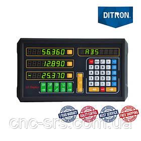D100-3 трехкоординатное устройство цифровой индикации  производства компании Ditron.