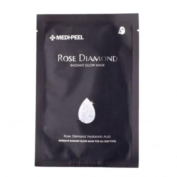 Увлажняющая маска для сияния кожи MEDI-PEEL Rose Diamond Radiant Glow Mask