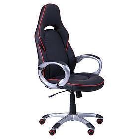 Кресло Страйк (CX 0496H Y10-01) Черный/кант Красный (AMF-ТМ)