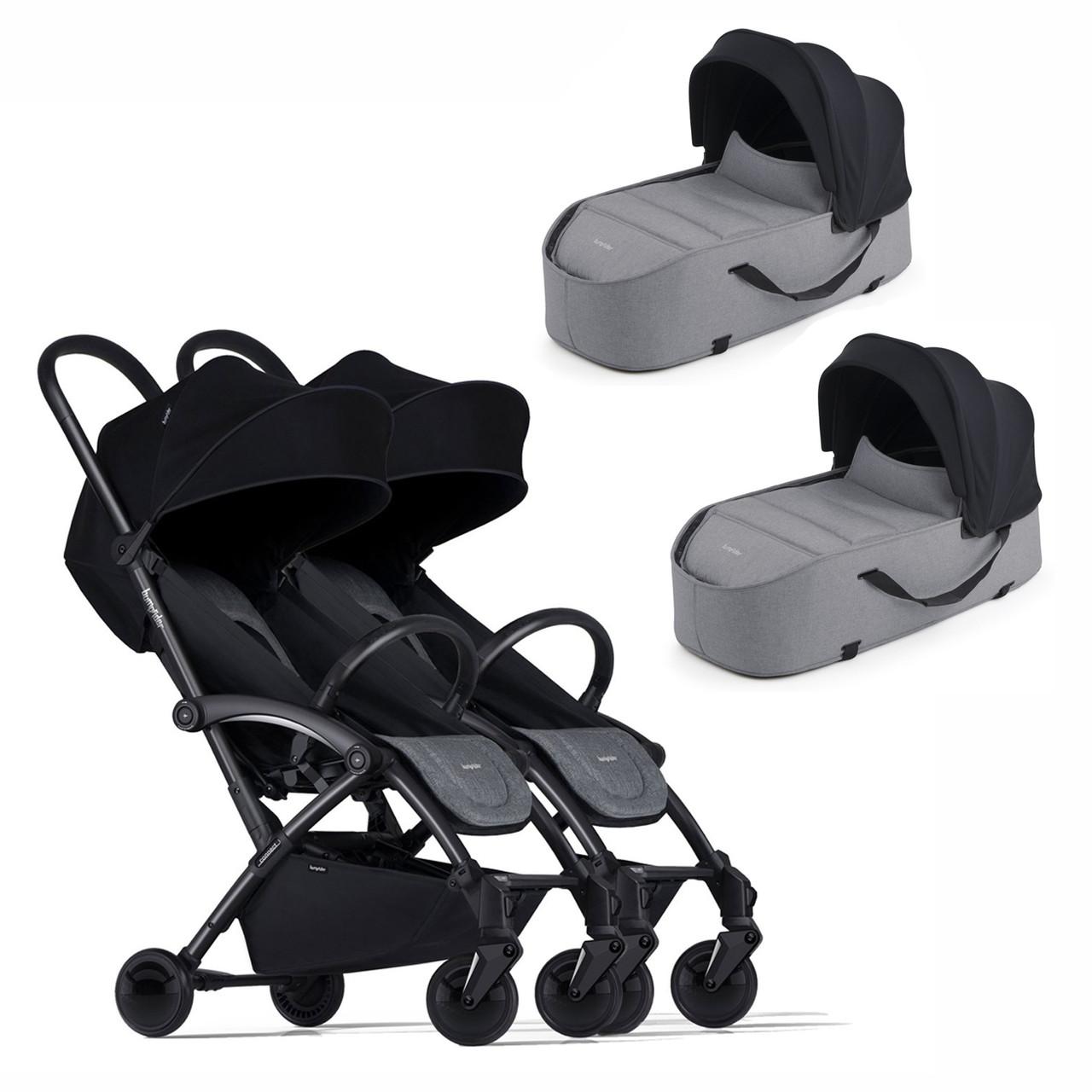 Универсальная коляска 2 в 1 для двойни Bumprider Connect 2