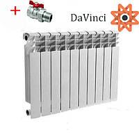 Радиатор алюминиевый 500/100 185 Вт 16 бар DaVinci